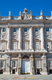 The  Royal Palace in Madrid, Spain Stock Images
