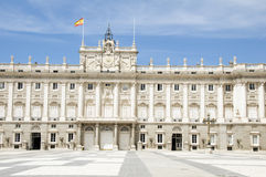 Royal Palace Madrid Spain Royalty Free Stock Images