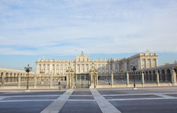 Royal palace, Madrid, Spain Stock Photos