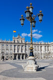 Royal Palace at Madrid Spain Stock Images