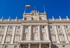 Royal Palace at Madrid Spain Royalty Free Stock Image