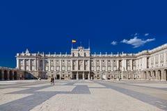 Royal Palace at Madrid Spain Stock Photos