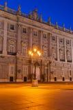 Royal Palace at Madrid Spain Stock Photo