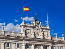 Royal Palace at Madrid Spain Royalty Free Stock Photos