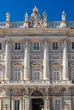 Royal Palace at Madrid Spain Royalty Free Stock Photo