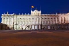 Royal Palace at Madrid Spain Stock Image