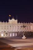 Royal Palace at Madrid Spain Royalty Free Stock Images
