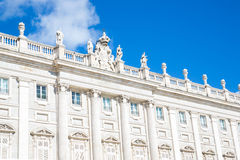Royal Palace, Madrid, Spain Stock Image