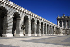 Royal Palace in Madrid, Spain Royalty Free Stock Image