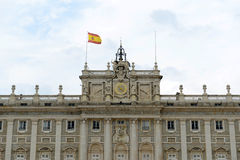 Royal Palace of Madrid, Spain Royalty Free Stock Photo