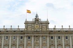 Royal Palace of Madrid, Spain Royalty Free Stock Photo