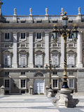 Royal palace at Madrid, Spain Stock Photo