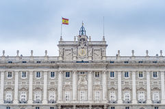 The Royal Palace of Madrid, Spain. Stock Photo