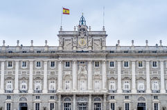 The Royal Palace of Madrid, Spain. Royalty Free Stock Photos
