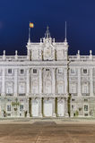 The Royal Palace of Madrid, Spain. Royalty Free Stock Image