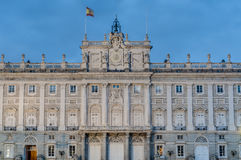 The Royal Palace of Madrid, Spain. Royalty Free Stock Images