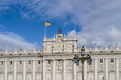 The Royal Palace of Madrid, Spain. Stock Photography