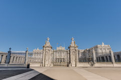 The Royal Palace of Madrid, Spain. Stock Images