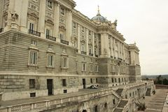 Royal Palace of Madrid, Spain Royalty Free Stock Images
