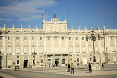 Royal Palace of Madrid, Spain Stock Image