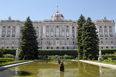 Royal Palace, Madrid, Spain. Royalty Free Stock Image