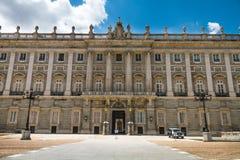 Royal Palace Madrid Spanien lizenzfreie stockfotografie