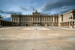 Royal Palace, Madrid, Spanien, Lizenzfreies Stockbild
