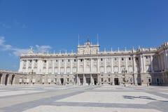 Royal palace, Madrid Stock Image