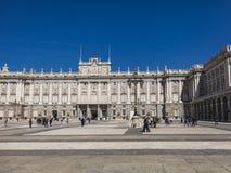 Royal Palace of Madrid Stock Photos
