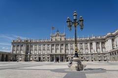 Royal Palace of Madrid, Madrid, Spain royalty free stock photo