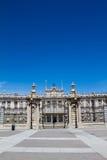 Royal Palace Madrid Stock Images