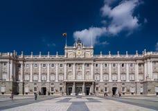 The Royal Palace of Madrid (Palacio Real de Madrid). Royalty Free Stock Photo