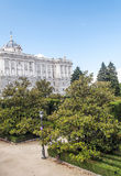 Royal Palace Madryt Obraz Stock