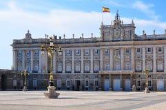 Royal Palace Madryt, Hiszpania obraz stock