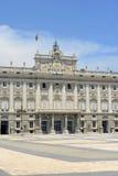 Royal Palace Madryt, Hiszpania Zdjęcie Stock