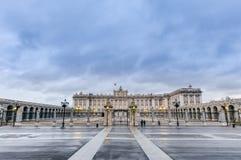 Royal Palace Madryt, Hiszpania obrazy stock