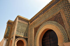 Royal Palace in Meknes Marocco Immagine Stock