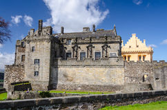 Royal Palace met de Grote Zaal in Stirling Castle in Stirling, Stock Foto's