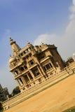 Royal Palace met een houding Stock Fotografie
