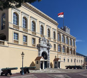 Royal Palace - Monaco Stock Image