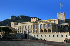 The Royal Palace of Monaco Stock Images