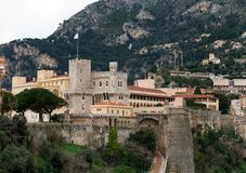 The Royal Palace, Monaco Royalty Free Stock Photography