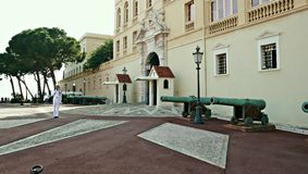 The Royal Palace of Monaco. The official residence of the King royalty free stock images