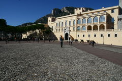 Royal Palace in Monaco Stock Image