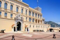 Royal Palace (Monaco Ville) Royalty Free Stock Photos