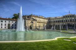 Royal Villa of Monza, Italy stock images