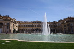 Royal Palace Monza Royalty Free Stock Images