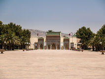 Royal palace in Moroccan Fes stock photo