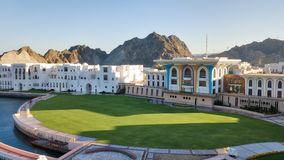 Royal Palace, Muscat, Oman. Taken in 2015 stock photography