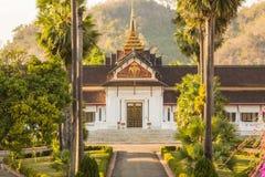 Royal Palace museum i Luang Prabang, Laos Arkivbilder
